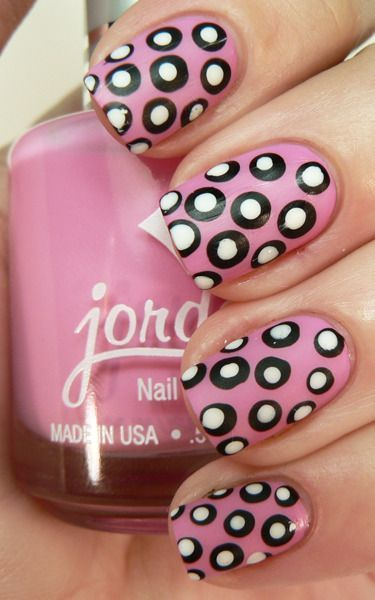 polka dot nail ideas 11