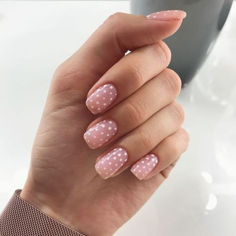 polka dot nail ideas 3