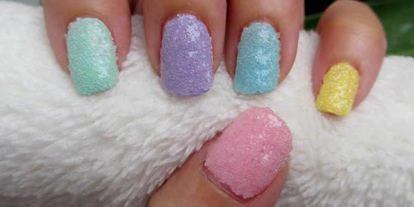 salt nail art tutorial 2