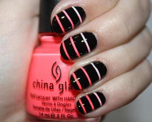 short easy nail designs