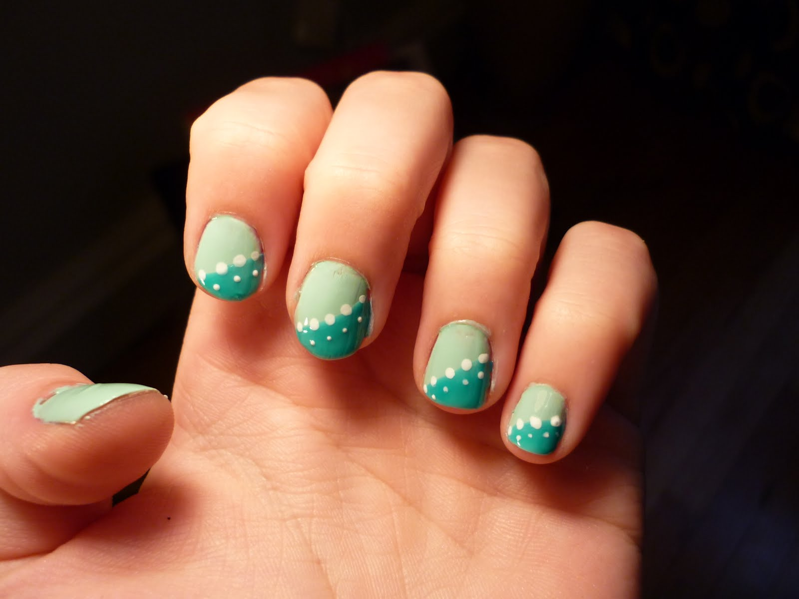 Easy nail designs simple nail design ideas prinsesfo Gallery