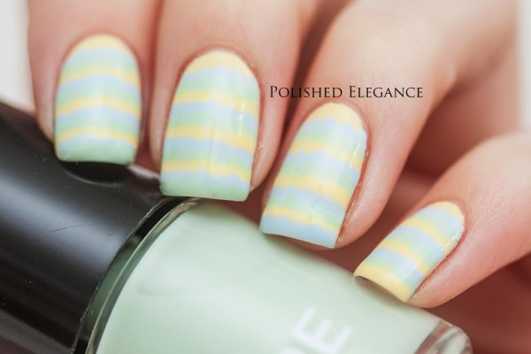 stripes-nail-art