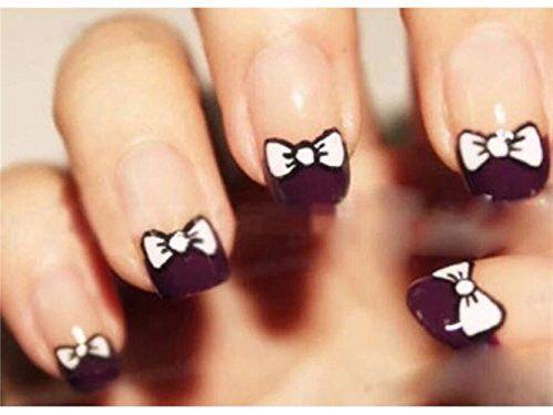 tie nail ideas pink
